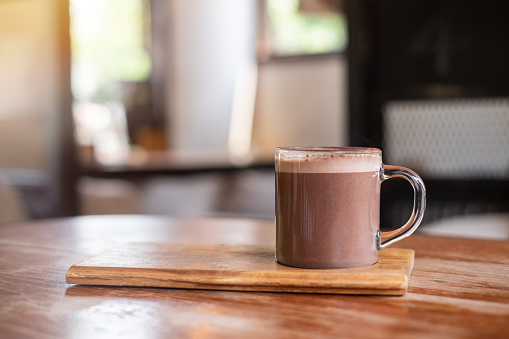 SWISS HOT CHOCOLATE WITH COCOA POWDER AND CINNAMON RECIPE
