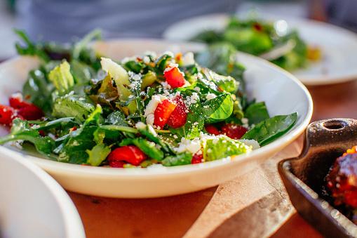 Purslane And Strawberry Quinoa Salad
